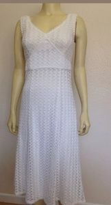 Cartise white knitted dress 2